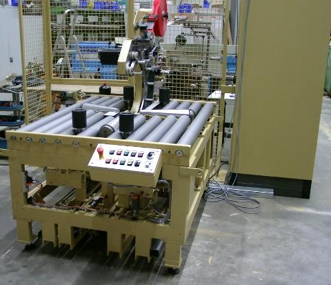 DVT wrapping machine